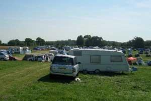 Campsite view caravans 18